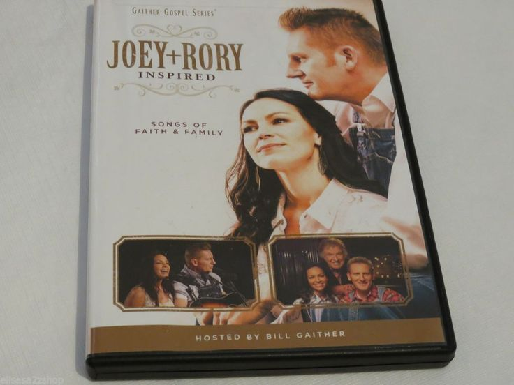 Joey + and Rory inspired Gaither Gospel Series DVD songs of faith and Family
