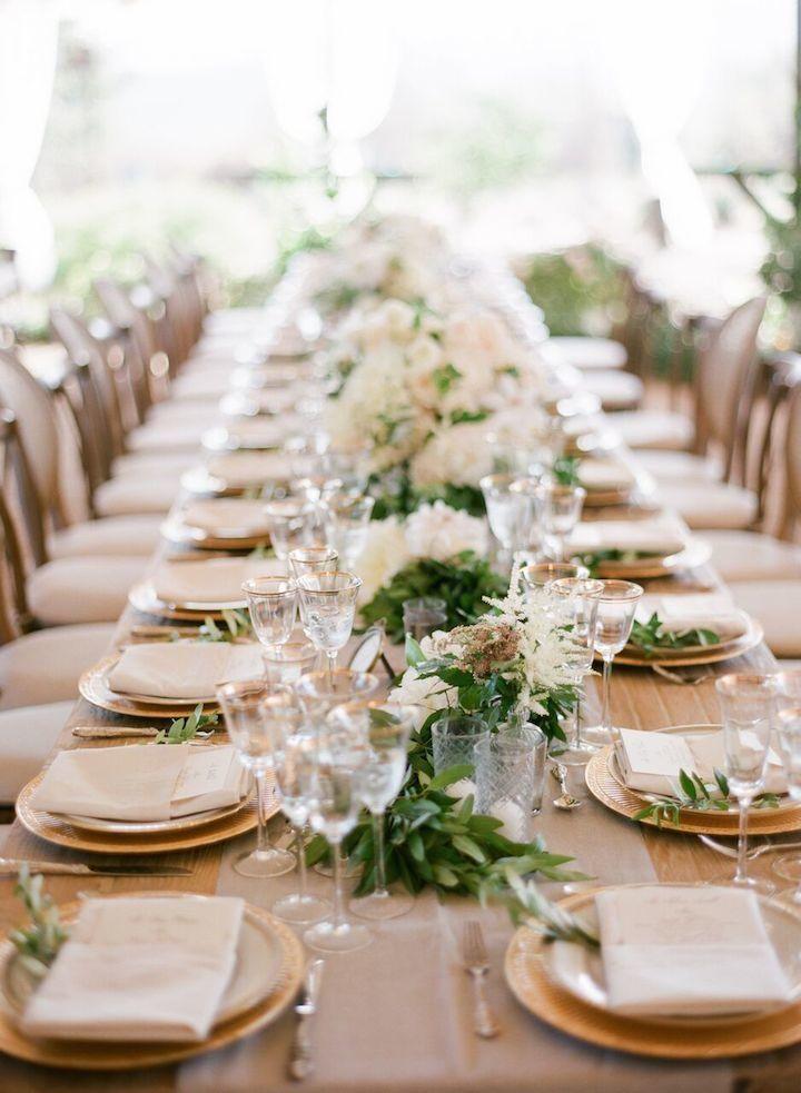 Outdoor California Wedding with Rustic Decor - MODwedding