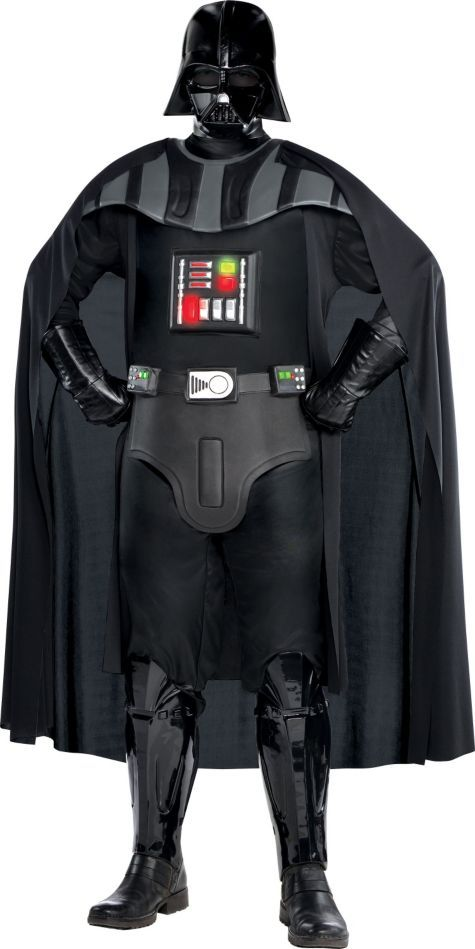 Adult Darth Vader Costume Plus Size Deluxe - Star Wars - Party City