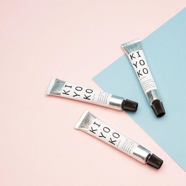 Kiyoko   Small-batch lip balm #skincare #smallbatch #packaging #menagerie