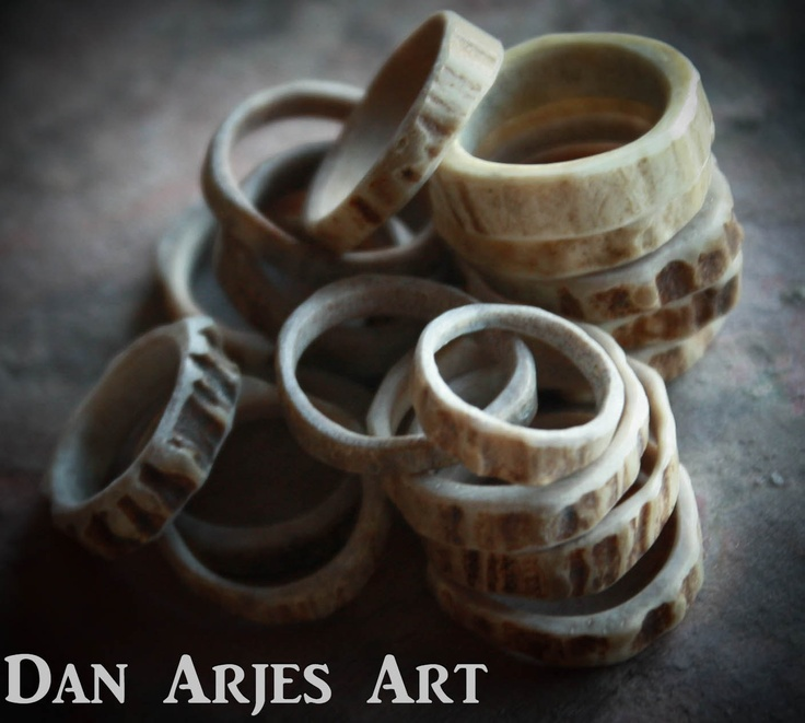 Antler Rings by TheAntlerArtisan on Etsy, $15.00