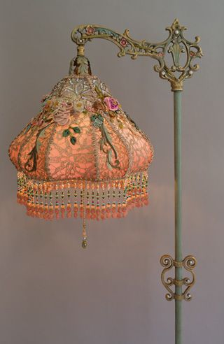494 Best Lamp Shades And Beads Images On Pinterest