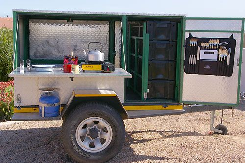 how to build a off road camping trailer