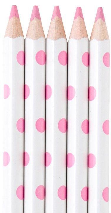 Pink pencils!