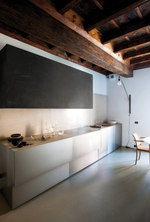 Contemporary, Minimalist Kitchen Interior