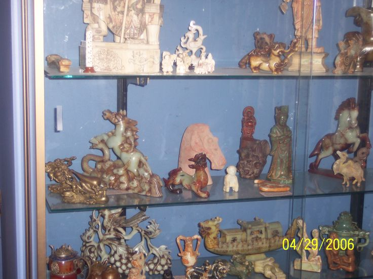 Jade Carvings and Asian Artefacts