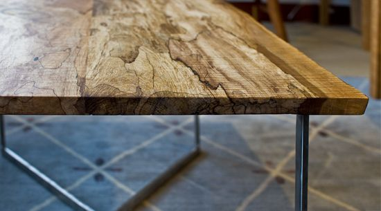 21 best wood slab dining tables images on pinterest for Reclaimed wood furniture portland oregon