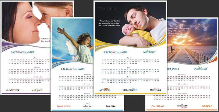 Calendar design inspiration