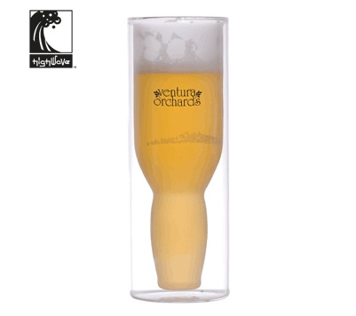 The HighWave Australian Beer Glass will get your logo attention!