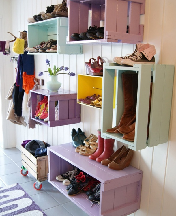 Love for shoes display ♥ #matildajaneclothing #MJCdreamcloset