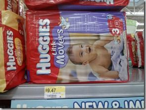 Huggies Little Movers Slip-On Diapers $7.97 At Walmart!