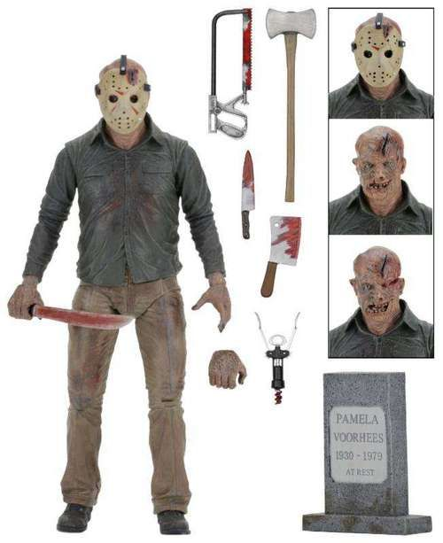 NECA Friday the 13th Ultimate Part 4 Jason Action Figure (Pre-Order ships June)