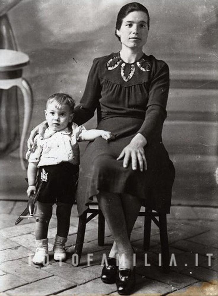ritratto di famiglia anni '50