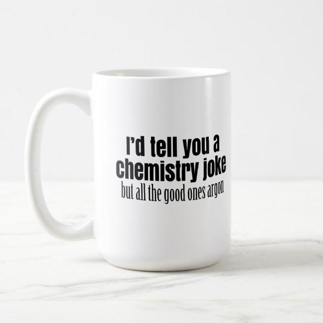 funny chemistry meme for teachers students coffee mug zazzle com