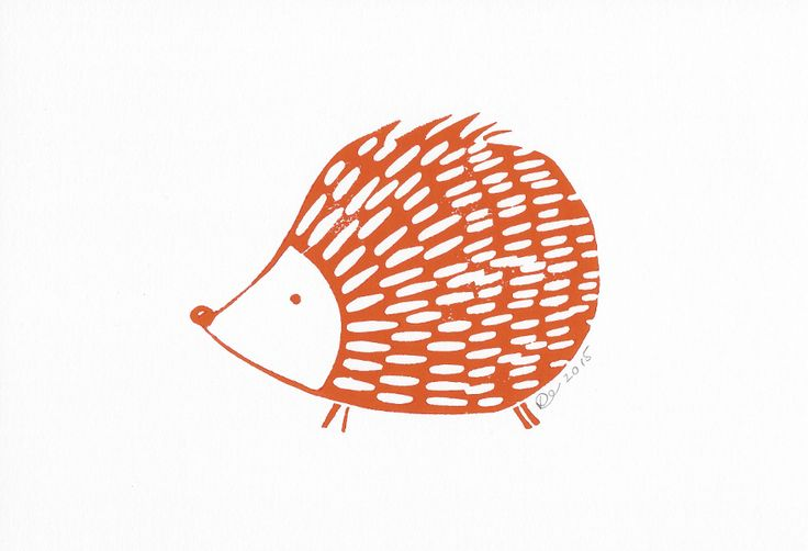 Hedgehog by Lynn costello erskine on art click.ie