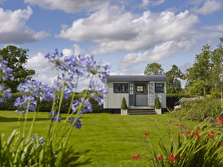 The Chatsworth Shepherd Hut, desiged by Bayswater Interiors for www.gardenhideouts.co.uk