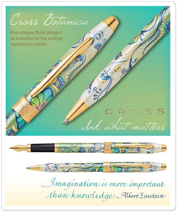 Cross Botanica Green Daylily Ball Pen Pens de Luxe Online Shop