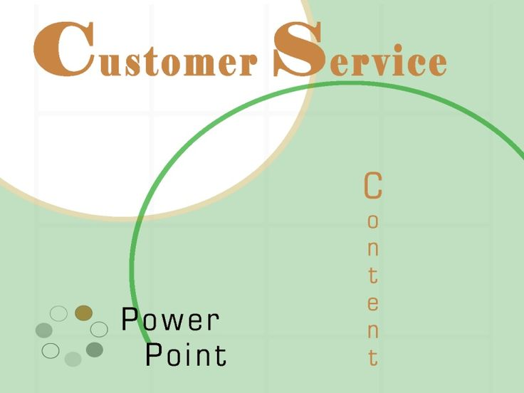 customer-service-powerpoint-presentation-810211 by Andrew Schwartz via Slideshare