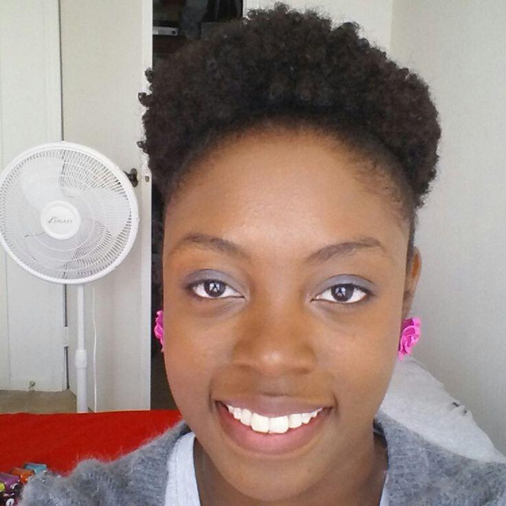 4a 4b 4c natural hair puff @Ronisha Parra Conway