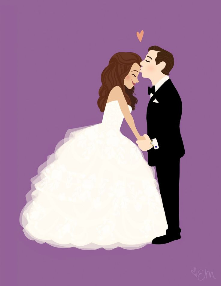 Wedding illustration / Matrimonio illustrazione #Mariage