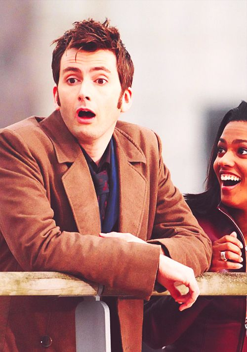 I love their reactions when they realize Captain Jack is the Face of Boe.