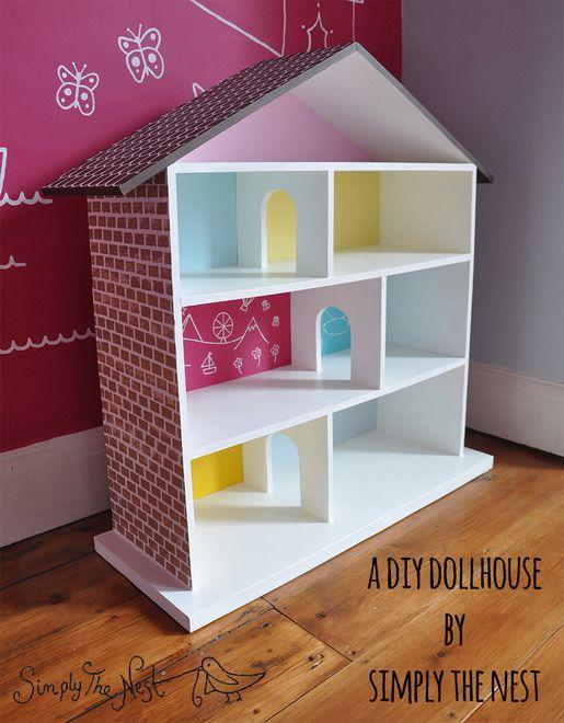 A DIY dollhouse project by Simply The Nest - a UK renovation blog