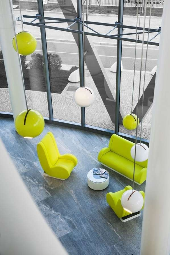 Modern Whimsical Accommodations - The B4 Hotel by Simone Micheli is Wacky and Wonderful (GALLERY)