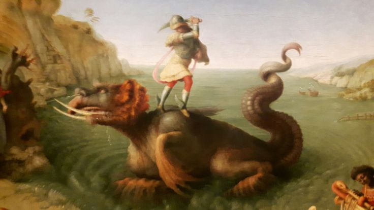 Perseo salva Andromaca. 1510-1513. Uffizi.