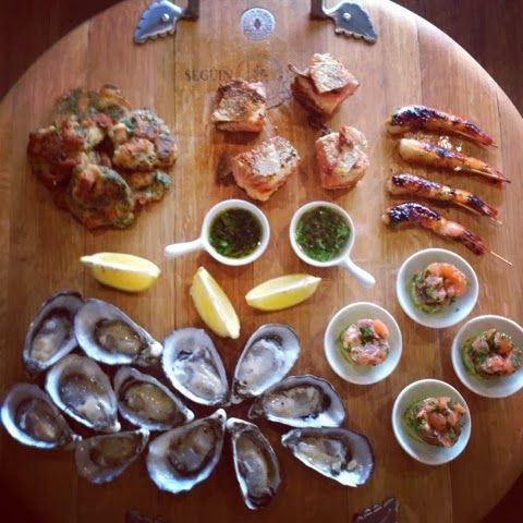 Seafood Tapas Made by Me
