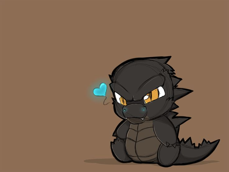 "tinyliltt: "" I really want a lil godzilla plush.. """