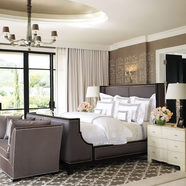 50 classic glam bedroom designs that are utterly gorgeous - Contemporary Master Bedroom Design