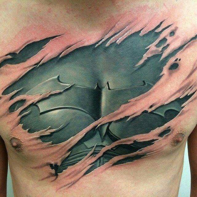 30 Awesome Batman Tattoo Designs - http://slodive.com/tattoos/30-awesome-batman-tattoo-designs/