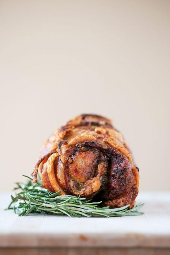 Porchetta Pork Shoulder | Recipe | Summer, Salsa verde and ...