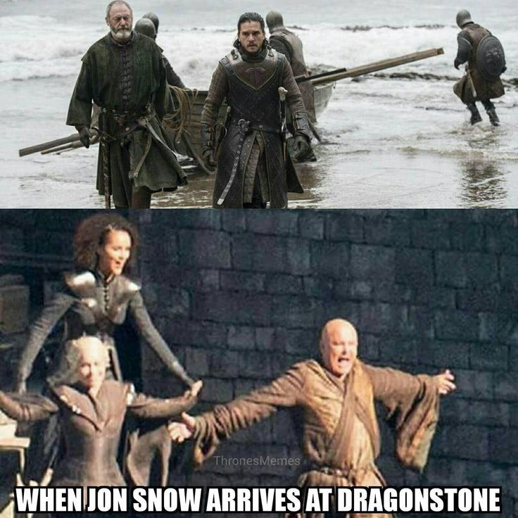 Game of Thrones, Jon Snow welcome home!
