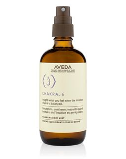 Chakra 6 Balancing Body Mist - center of intuition, imagination and balance Find out more at Aveda.com