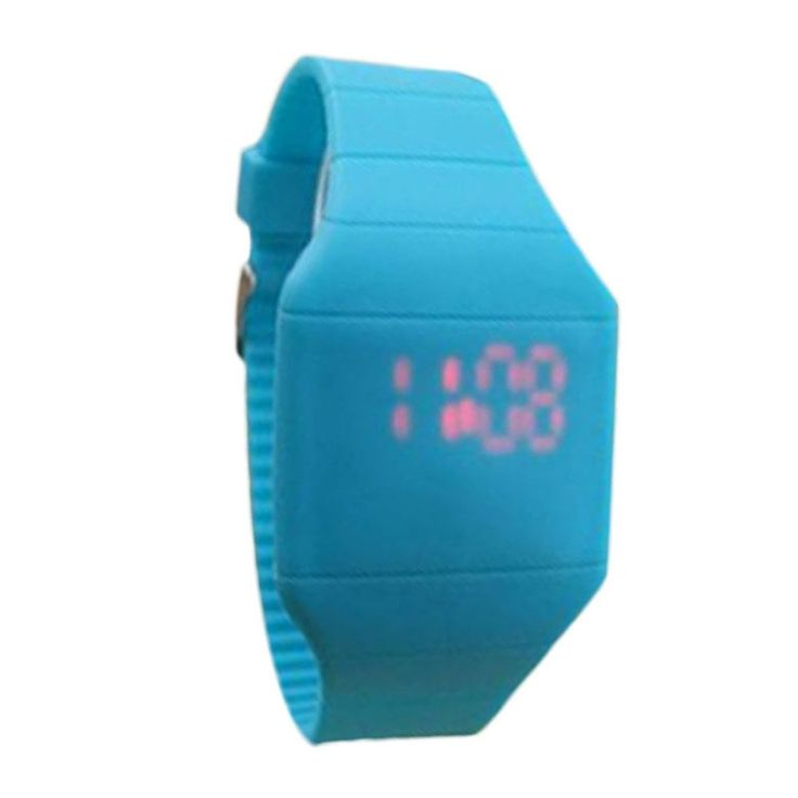 * Penny Deals * - Silicone Mens Womens Rubber LED Digital Watch Date Sports Bracelet WristWatch Blue2 * Check out the image by visiting the link.