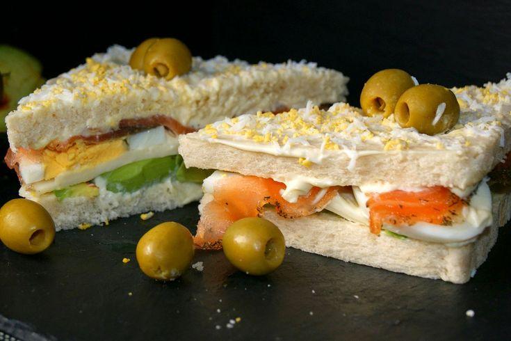 Anna recetas fáciles: Sandwich de salmón y aguacate
