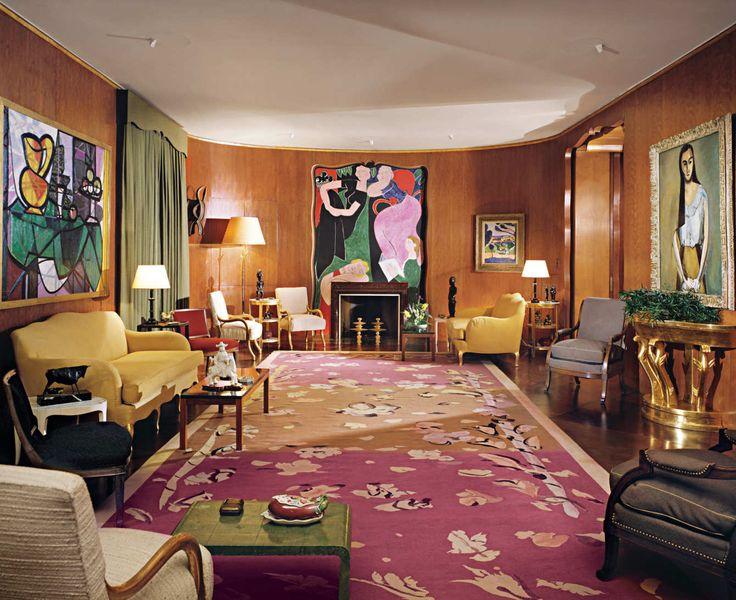 Richard Mishaan Picks Nelson Rockefeller's Living Room Designed by: Jean-Michel Frank Location: Fifth Avenue, Upper East Side Year: 1934