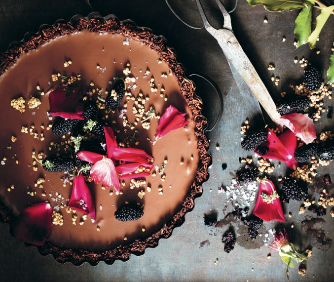 In my previous post, I shared an interview that I did recently with the very clever Sarah Wilson of I Quit Sugar, and her beautiful new book #Simplicious. And then I promised you one of her recipes. This Cardamom and Sea Salt Ganache Tart is gorgeous. I urge you to make it at the soonest [...]