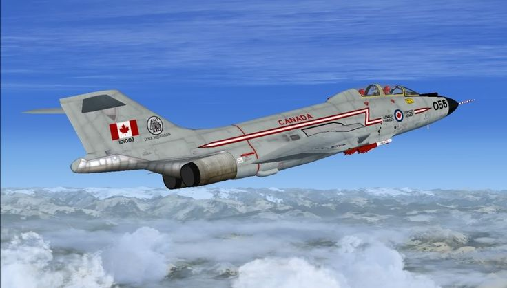 The McDonnell F-101 Voodoo was a supersonic jet fighter which served the United States Air Force and the Royal Canadian Air Force. Wikipedia Wingspan: 40' (12 m) Length: 67' (21 m) First flight: September 29, 1954 Introduced: May 1957 Retired: 1966 Engine type: Pratt & Whitney J57 Manufacturer: McDonnell Aircraft