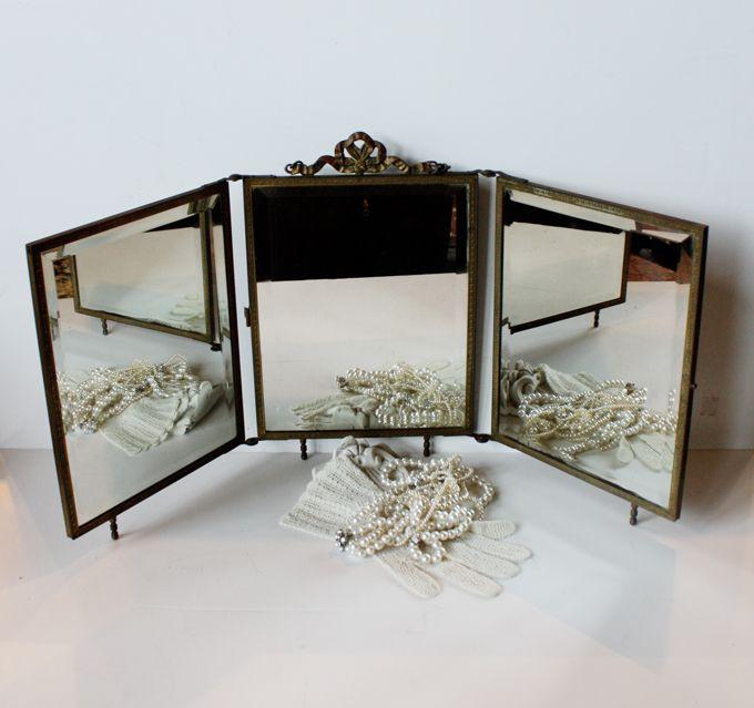 Victorian Boudior table mirror! Paris Couture Antiques - Best 89 Vintage Vanity Mirror Ideas On Pinterest Home Ideas
