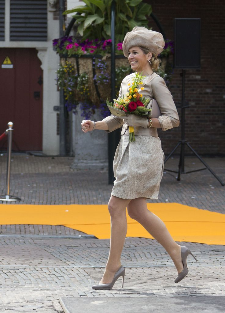 Queen Maxima - Dutch Royals Continue Touring the Netherlands