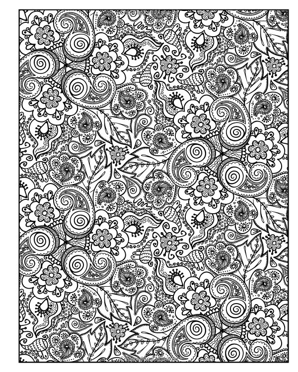 Diabolically Detailed Colouring Book Volume 1 Art Filled Fun Books Adult Coloring