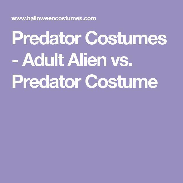 Predator Costumes - Adult Alien vs. Predator Costume