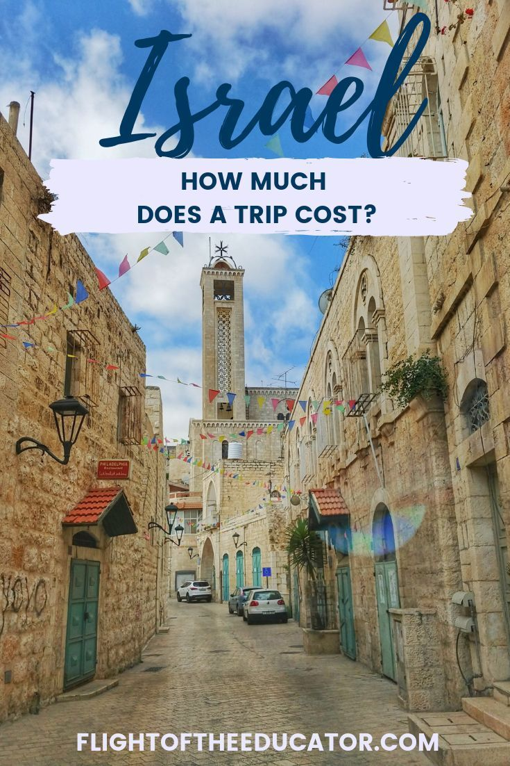 Israel Budget How Much Does a Trip to Israel Cost