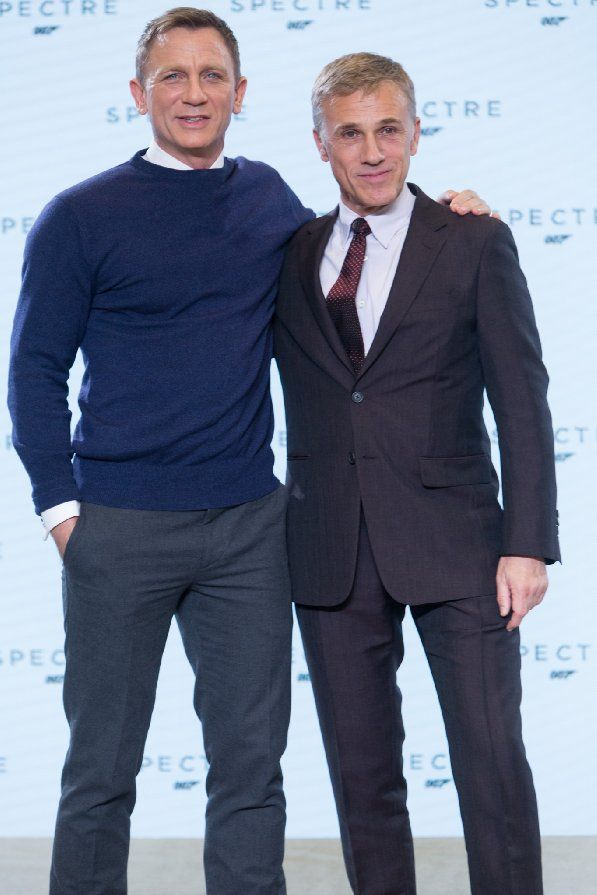 Daniel Craig and Christoph Waltz at event of Spectre (2015)
