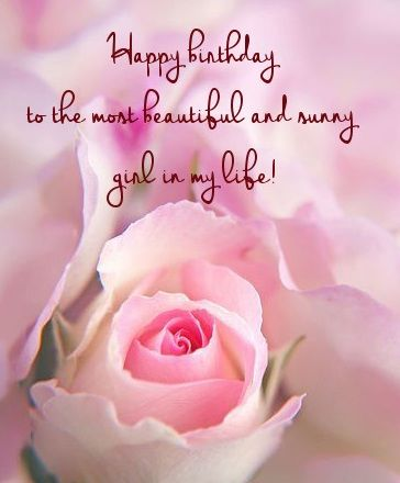 Romantic birthday wishes for girlfriend : Birthday messages and images for girlfriend