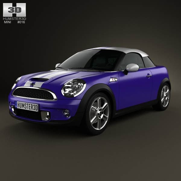 Mini Cooper S Coupe 2013 3d Model From Humster3d Com Price 75
