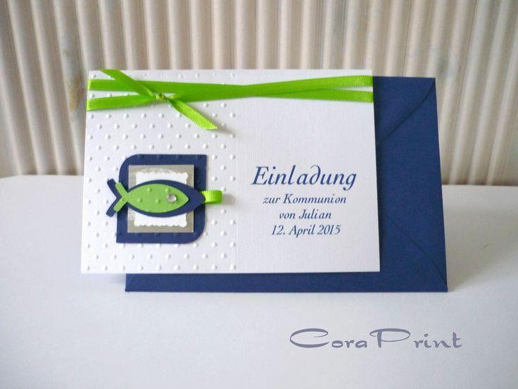 Einladungskarte Konfirmation Selbst Gestalten