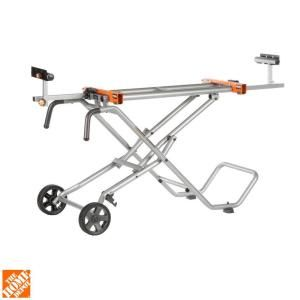 RIDGID, Mobile Miter Saw Stand, AC9945 at The Home Depot - Mobile